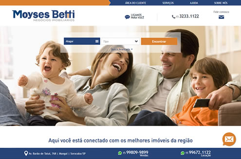 Imagem do site da Moyses Betti